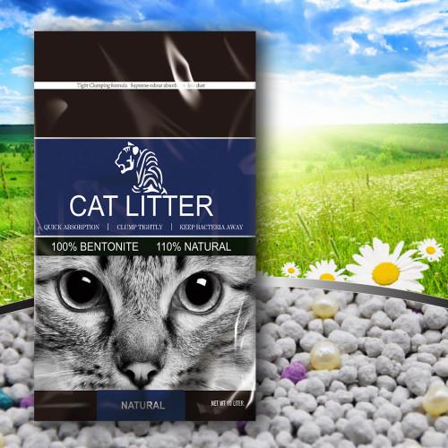 Бентонитовый наполнитель TIGER PET, без запаха, 5 л (4 кг)