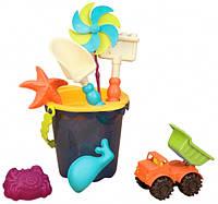 Набор для игры с песком и водой - ВЕДЕРКО МОРЕ (9 предметов)