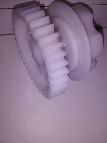 Шестерня редуктора RS550 на 37 зубов 6 лепестков для детского электромобиля, фото 2
