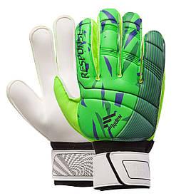 Перчатки для футбола RESPONSE салатовые 508-1, 10