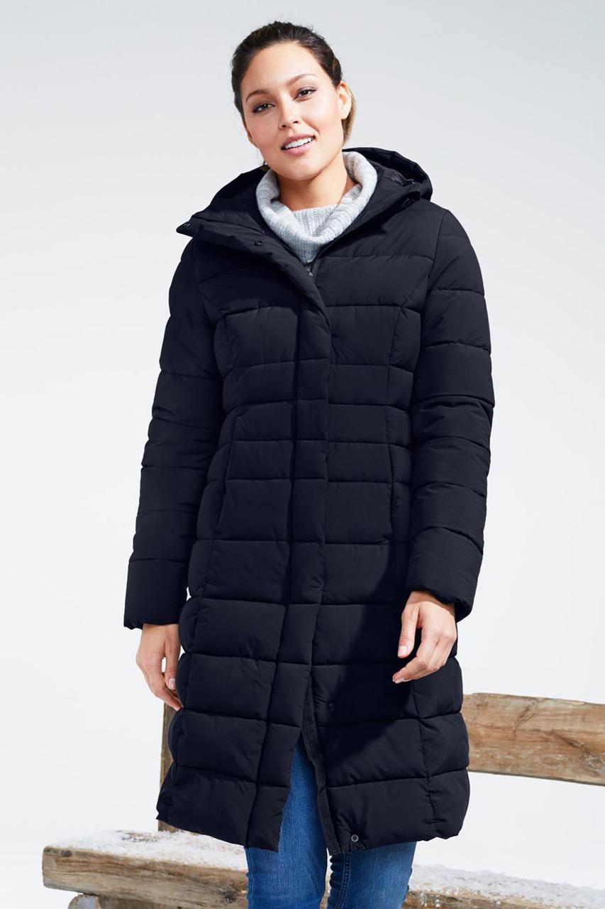 Шикарна жіноча тепле стеганное пальто від tcm Tchibo (чібо), Німеччина, XS-S