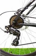 Підлітковий двопідвісний велосипед Azimut Scorpion 24 G-FR/D (17), фото 3