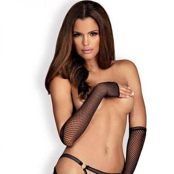 Митенки-перчатки Obsessive Darkie mittens black
