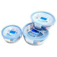 Пищевой контейнер для пищи Luminarc 920мл круглый 1шт Pure Box Active J5638/h7683/P3555/L8754