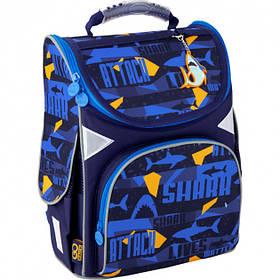 Рюкзак школьный каркасный GoPack Education Shark
