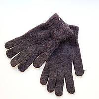 Вовняні рукавички чорні