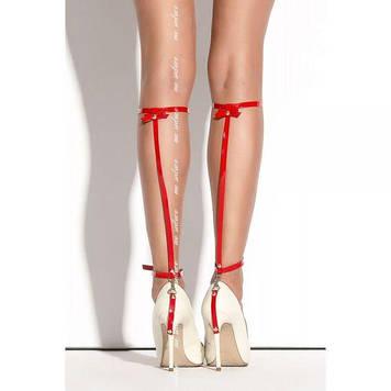 Украшение на ногу на ремешках  SO 01 Me-Seduce, Red