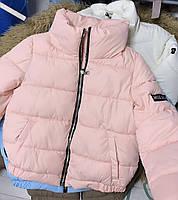 Трендовая женская дутая куртка на силиконе в расцветках (Норма), фото 6
