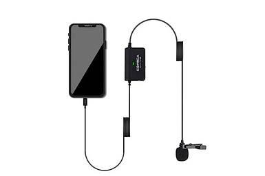 Петличний мікрофон Comica CVM-SIG.LAV V05 MI (Lightning) для продукції Apple безпосередньо без перехідників