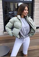 Дуже гарна жіноча дута куртка на синтепоні (Норма), фото 2
