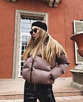 Дуже гарна жіноча дута куртка на синтепоні (Норма), фото 4