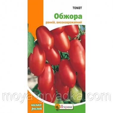 """Насіння томатів Обжора 0,1г ТМ""""Яскрава"""""""