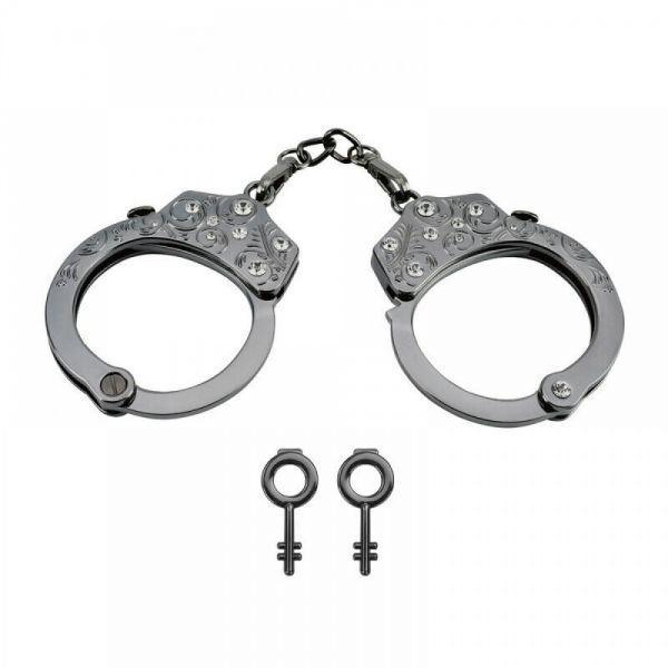 Наручники Разборные Premium Metal Romfun, Diamond