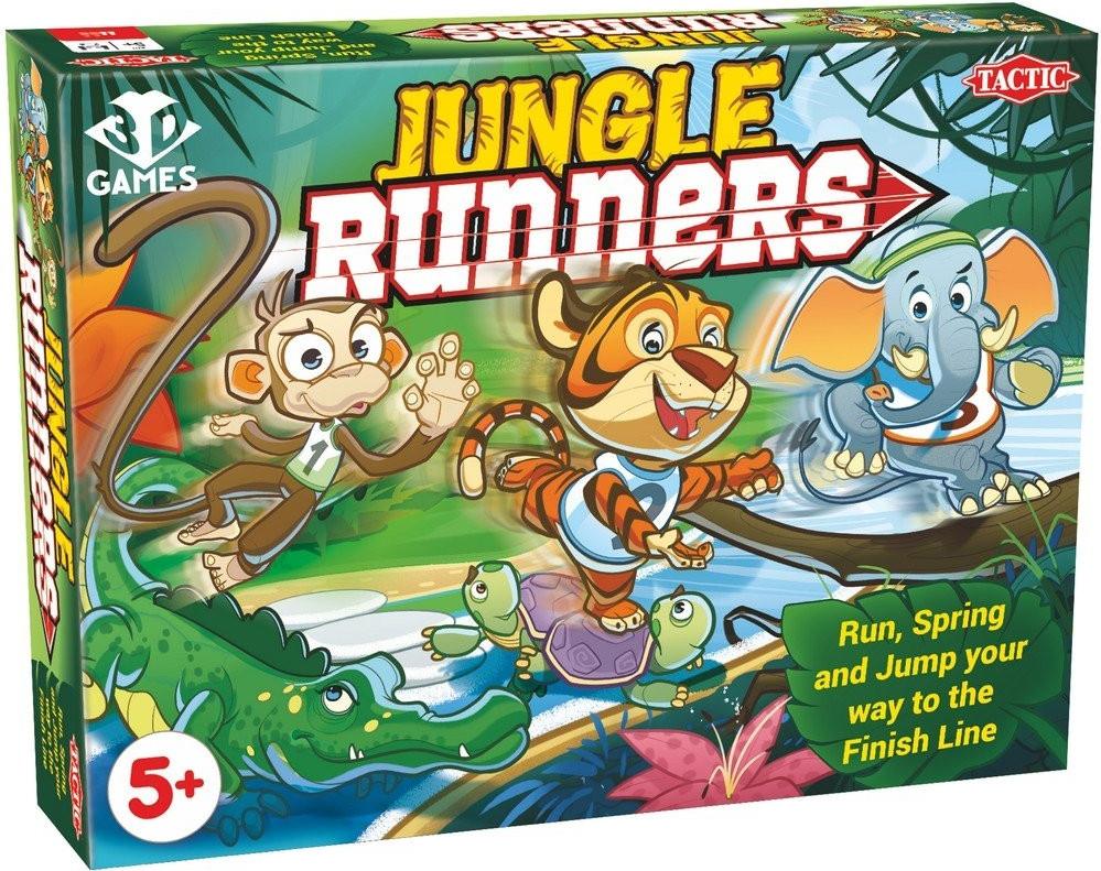 Настільна гра Tactic Гонки по джунглях (55397)