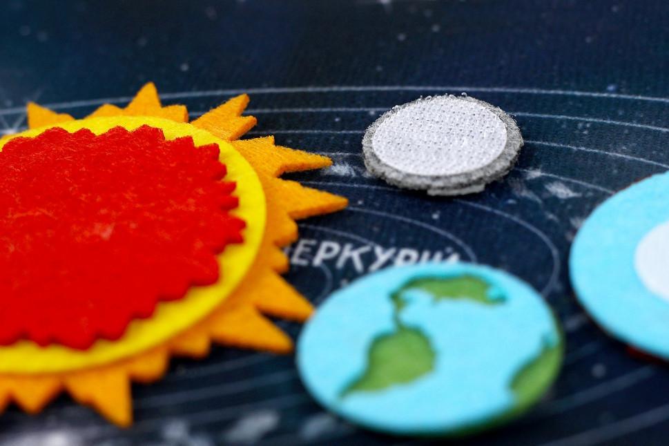 "Развивающая игра с фетра ""Космос"" PF-011"
