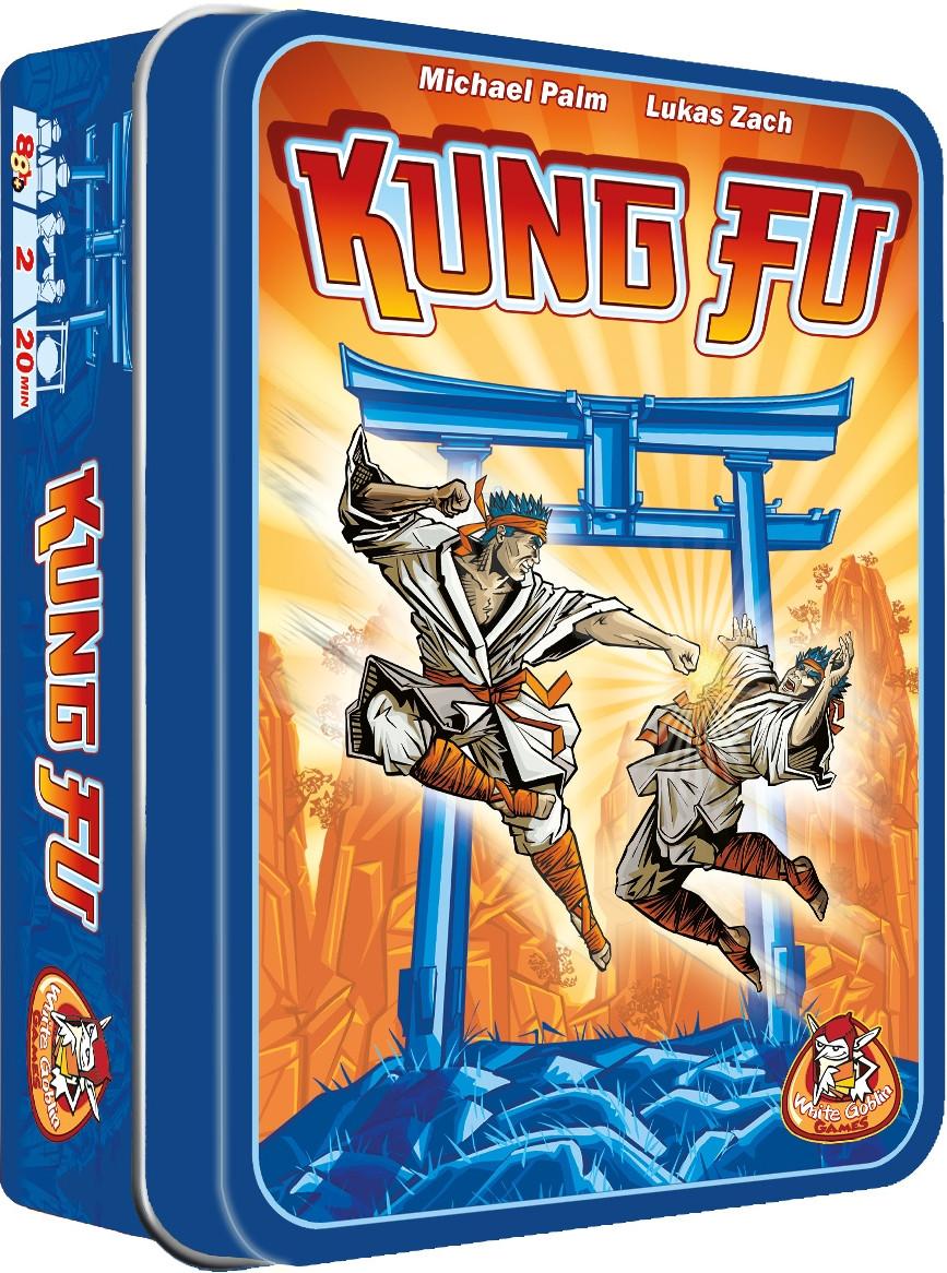 Настільна гра White Goblin Games Kung Fu (8718026301101)