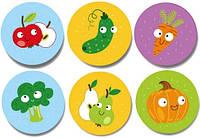 """Настольная игра DoDo Мемо """"Фрукты и Овощи"""" 300156 Развивающие настольные игры для детей!"""