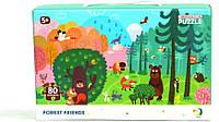 Пазл DoDo Лесные Друзья 300140 Развивающие пазлы для детей!