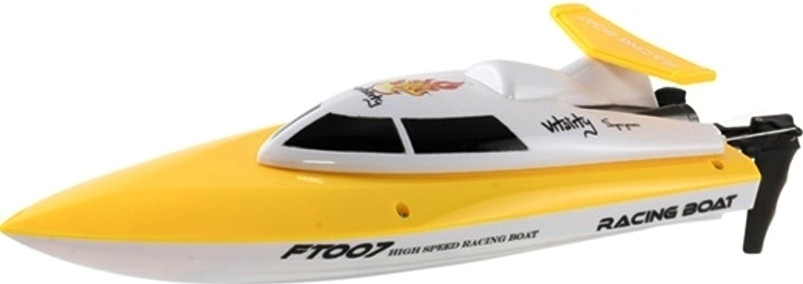 Катер на радіокеруванні 2,4 GHz Fei Lun FT007 Racing Boat, жовтий - 139892