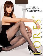 "Колготки люрекс Lores ""Carnevale"" 20 ден - S (2размер) на рост 152-158см, на бедра 96-100см, Италия"