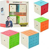 Кубик EQY526 4шт(5-5см, 5,5-5,5см, 6-6см), в кор-ке, 20-20-8см, фото 1