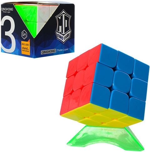 Кубик Рубіка на підставці різнокольоровий!