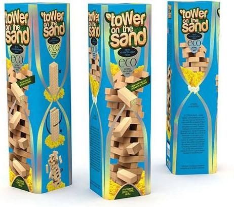 "Развивающая настольная игра VEGA 7903DT ""TOWER on the SAND"" укр."