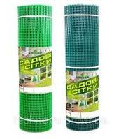 Сітка садова пластикова ,паркани.Осередок 20х20 мм,рул 1х20м, фото 1