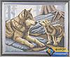 Схема для вышивки бисером - Волчица с волчонком, Арт. ЖБп3-030