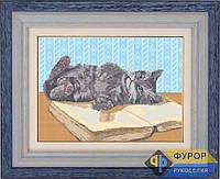 Схема для вышивки бисером - Игривый котенок, Арт. ЖБп3-7-2