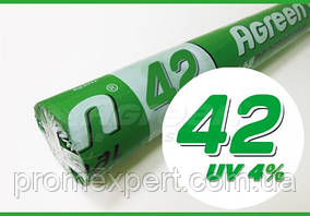 """Агроволокно """"Agreen"""" 42g/m2,(БІЛЕ) 3.2х100м. СПАНБОНД"""