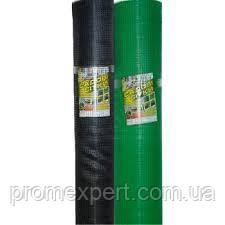 Сетка вольерная 1,5х100 м,ячейка 12х14 мм (черная,зеленая).Заборы садовые,сетки пластиковые.