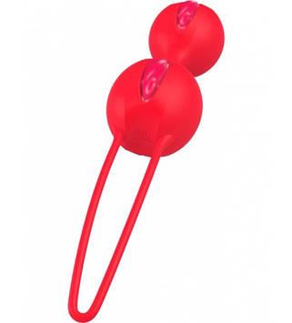 Вагинальные шарики Fun Factory SMARTBALLS DUO красный