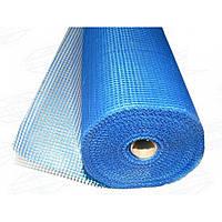 """Сетка строительная (фасадная,синяя) 145 g\m2"""",1х50м. (для наружных и внутренних работ)., фото 1"""