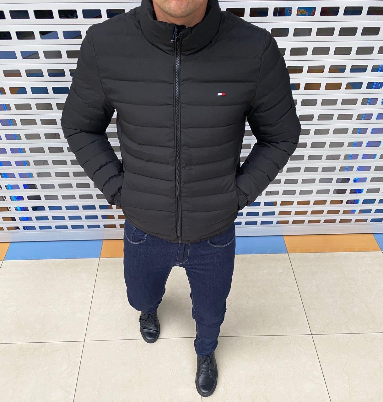 Мужская куртка Tommy Hilfiger H0967 черная