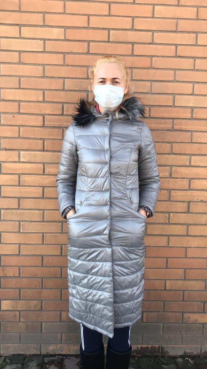 Куртка женская длинная  разм 42  (СКЛАД)