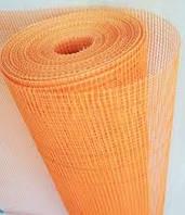 """Сетка строительная (фасадная,оранжевая) WORKS 160 g\m2"""",1х50м. (для наружных и внутренних работ)., фото 1"""