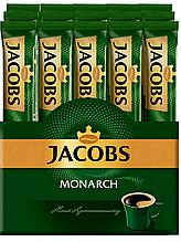 Кофе ОРИГИНАЛ растворимый Якобс стик 1,8г * 26шт Монарх Jacobs Monarch