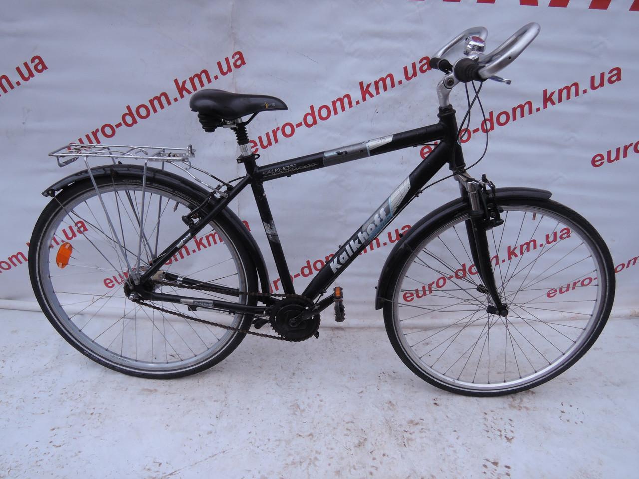 Городской велосипед Kalkhoff 28 колеса 7 скоростей на планитарке