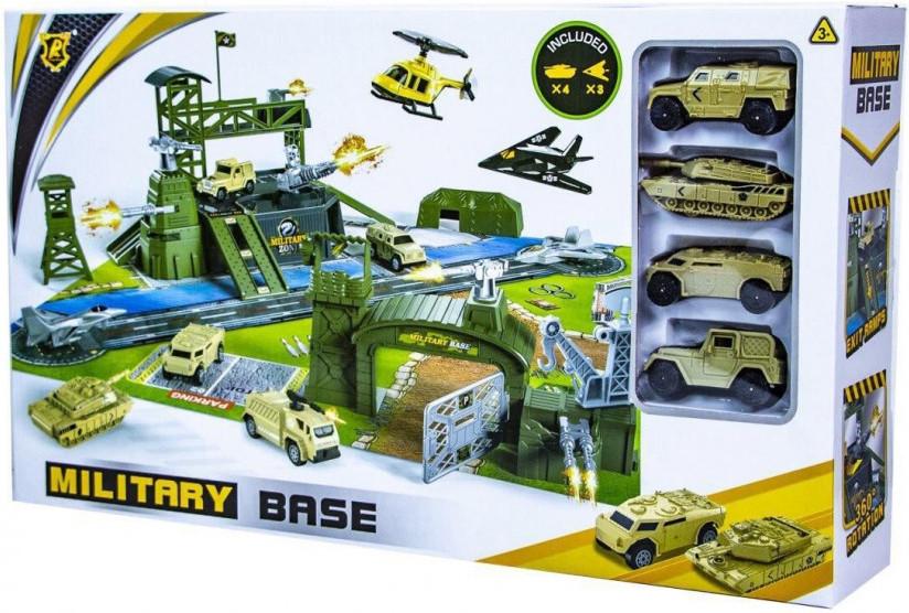 Ігровий набір Військова База Military P881-A