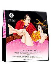 Гель для ванни Shunga LOVEBATH - Dragon Fruit 650гр, робить воду ароматним желе зі SPA еффектом