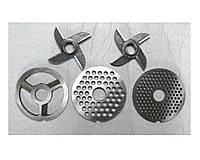 Ножи, шнеки, решетки для мясорубок МИМ-300,500,600,