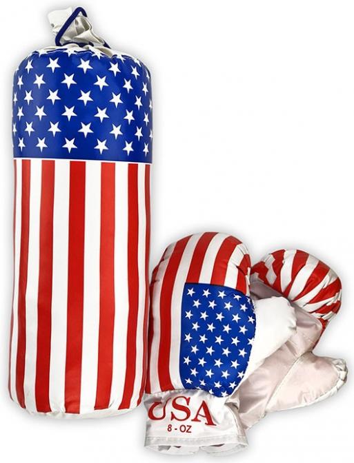 """Боксерський набір МАЛИЙ """"Америка"""" 0001 S-USA"""