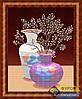 Схема для вышивки бисером - Натюрморт из двух ваз, Арт. НБч3-035