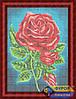 Схема для вышивки бисером - Алые розы, Арт. НБп3-047