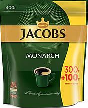 Кофе ОРИГИНАЛ растворимый Якобс Монарх 400г Акция эконом пакет Jacobs Monarch