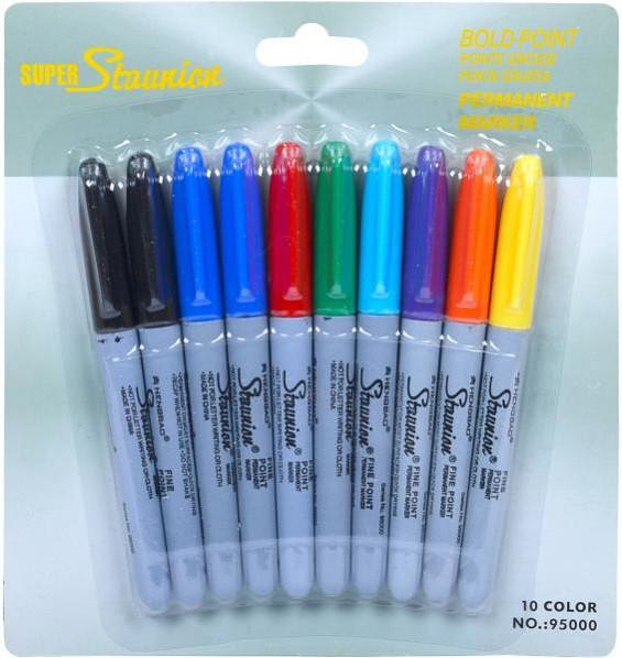 Набор маркеров 10 цветов 95000-10