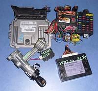 Блок управления двигателем комплект ( ЭБУ )HyundaiGetz 1.5crdi2002-2010391032A511 , Bosch 0281013141 , 391