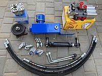 Комплект гидравлики на минитрактор, мотоблок (НШ-10 левый, привод профиль А)