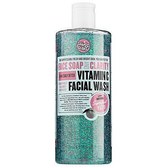 Пенка для умывания с витамином С Soap & Glory Face Soap & Clarity Foaming Face Wash 350 мл